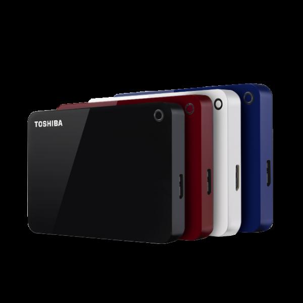Toshiba Canvio Advance V9 Usb 3.0 Portable External Hard Dri External Portable  (HDTC910AR3AA)