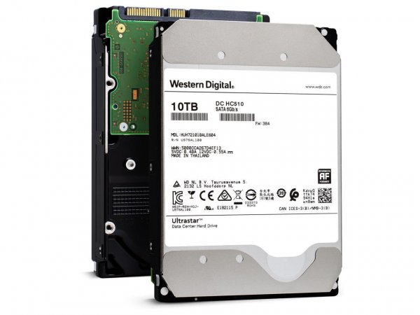 Western Digital Enterprise Wd Ultrastar 10TB SATA 256 MB Cache 3.5