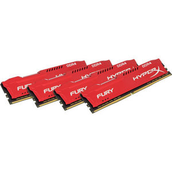 Kingston 64gb 2400mhz Ddr4 Cl15 Dimm (kit Of 4) ( Hx424c15frk4/64 )