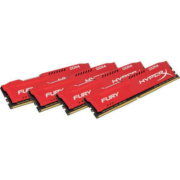 Kingston 64gb 2666mhz Ddr4 Cl16 Dimm (kit Of 4) ( Hx426c16frk4/64 )