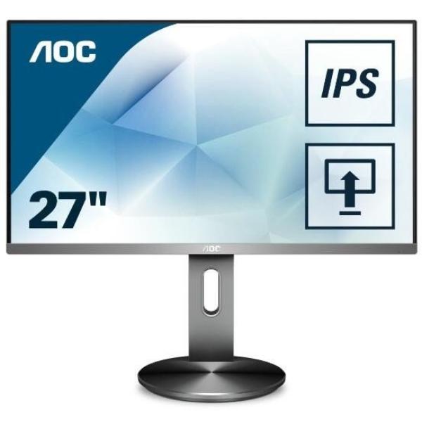 Aoc 27 AH-IPS Full HD DP Hdmi VGA 5ms Monitor (I2790PQU/75)