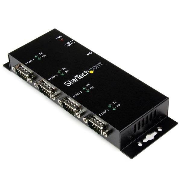 STARTECH 4 Port Usb To Db9 Rs232 Serial Adapter ICUSB2324I