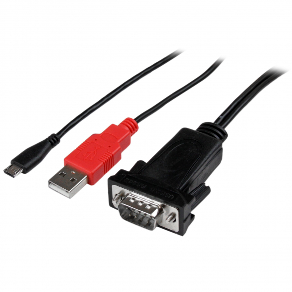 STARTECH Micro Usb To Rs232 Db9 Serial Adapter ICUSBANDR232
