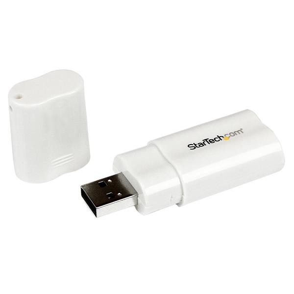 STARTECH Usb To Stereo Audio Adapter Converter - ICUSBAUDIO