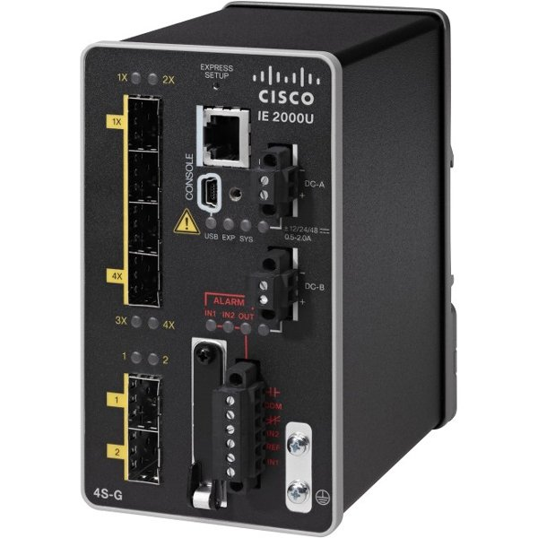 CISCO  Ie 2000u 4 Sfp Fe 2 Sfp Ge IE-2000U-4S-G