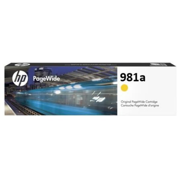 HP 981a Yellow Original Pagewide J3M70A