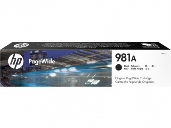 HP 981a Black Original Pagewide J3M71A