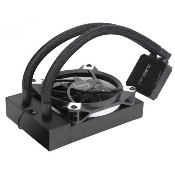 Antec Kuhler Liquid Cpu Cooler Low Profile Pwm Fan Tefl ( K120 )