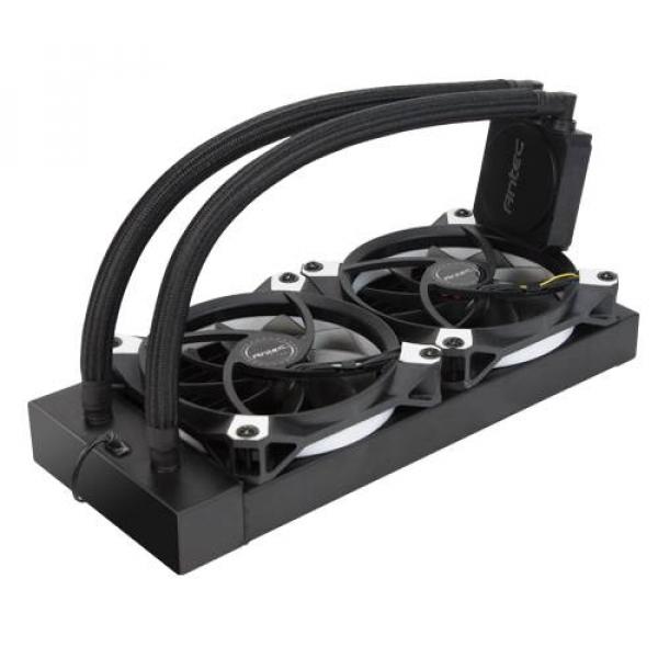 Antec Kuhler Liquid Cpu Cooler Low Profile Pwm Fan Tefl ( K240 )