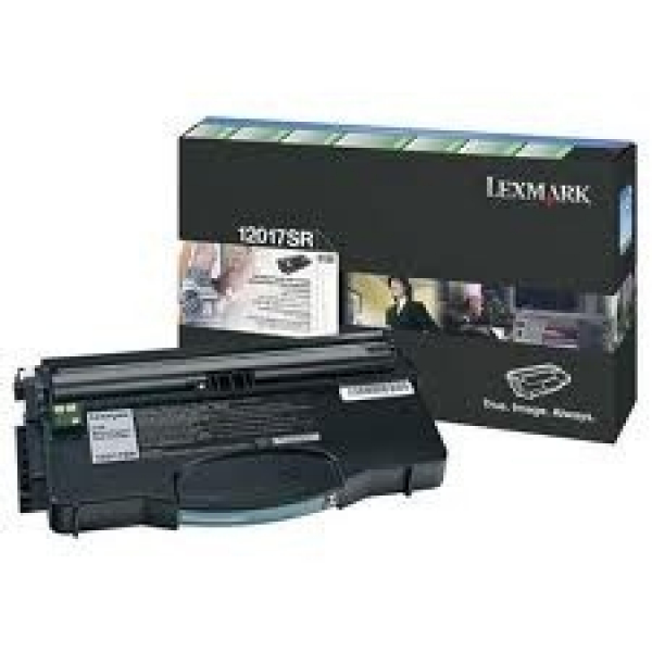 LEXMARK Black (return Program) Toner Yield 2000 12017SR