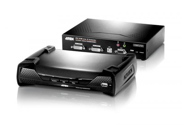 ATEN Dvi Dual Display Kvm Over Ip KE6940-AX-U