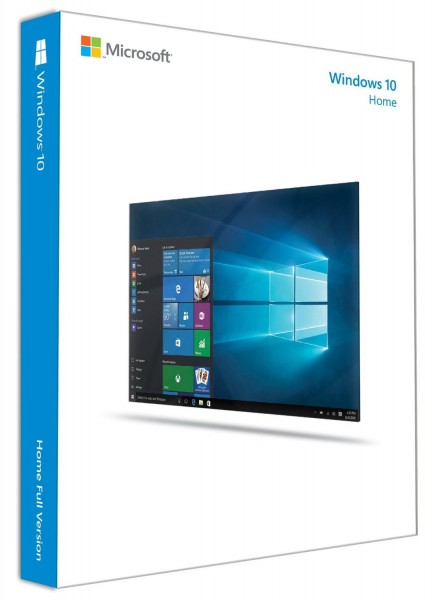 MICROSOFT Windows 10 Home 64-bit Oem - Includes KW9-00139
