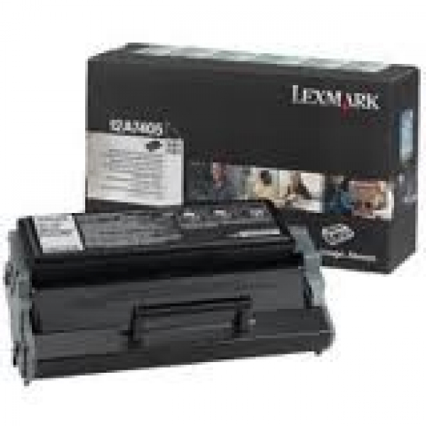 LEXMARK Black (return Program) Toner Yield 6000 12A7405