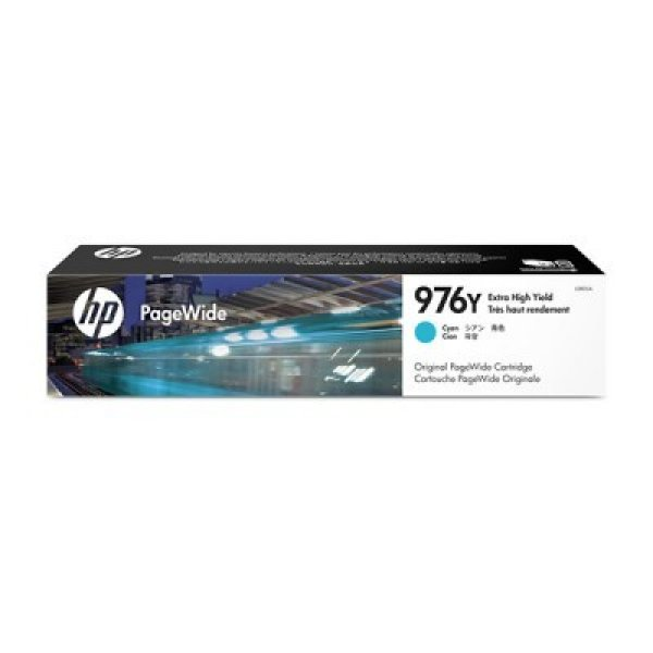 HP 976y Cyan Original Ink Crtg 552/577 L0R05A