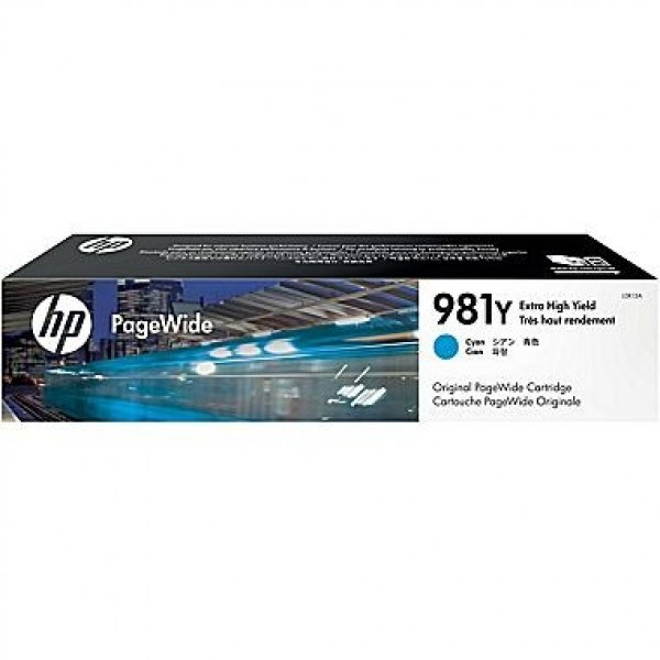 HP 981y Original Pagewide Cyan Ink Cartridge L0R13A