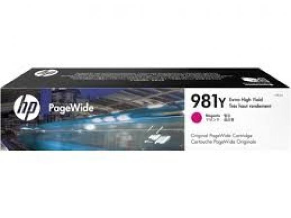 HP 981y Magenta Original Pagewide L0R14A