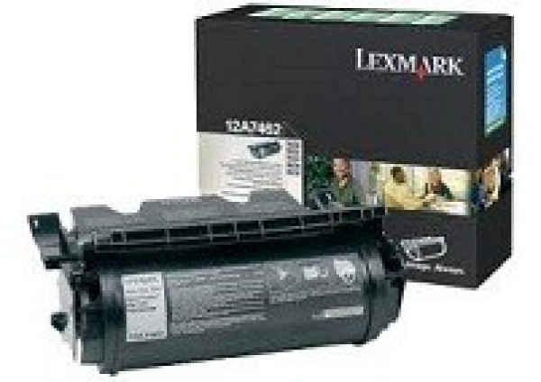 LEXMARK Black (prebate) Toner Yield 21000 Pages 12A7462