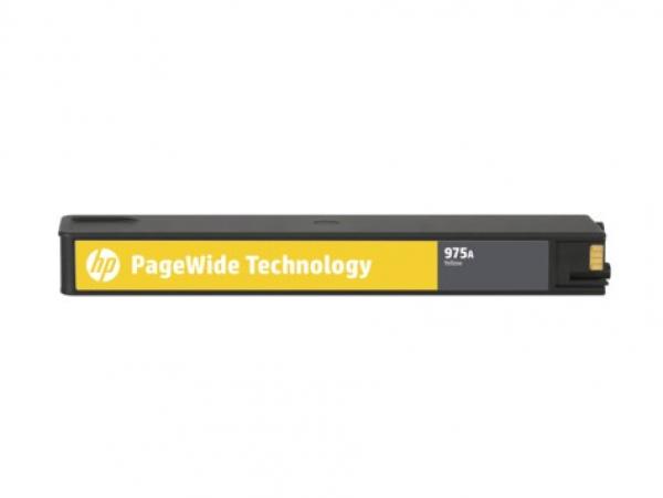 HP 975a Yellow Original Pw Crtg 442/552/477/577 L0R94AA