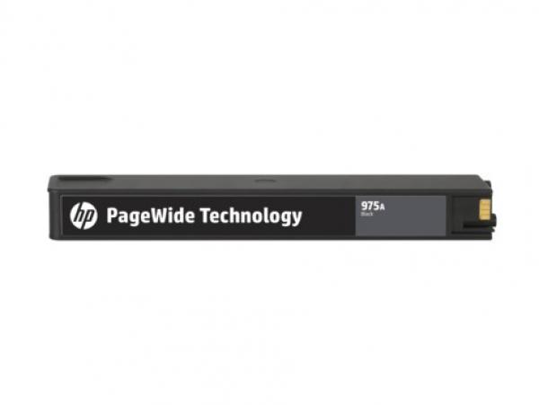 HP 975a Black Original Pw Crtg 442/552/477/577 L0R97AA