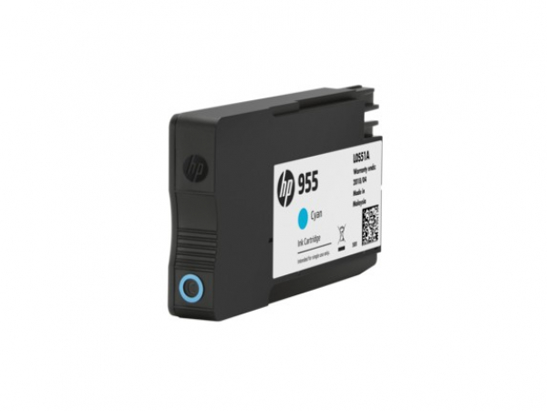 HP 955 Cyan Original Ink L0S51AA