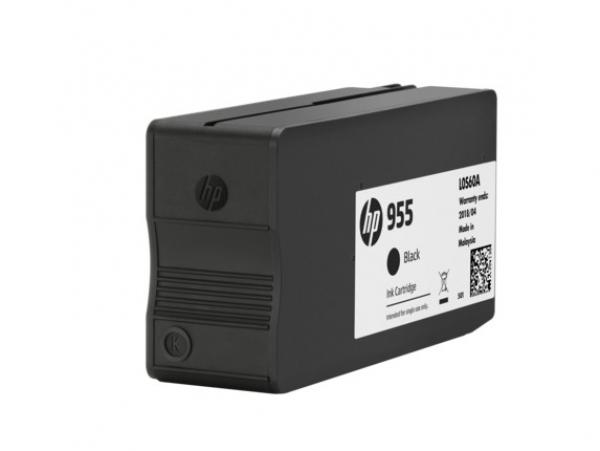 HP 955 Black Original Ink L0S60AA