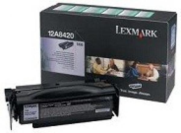 LEXMARK Black Toner (return Program) Yield 6k 12A8420