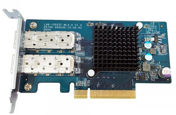 QNAP 10 Gigabit Dual-Port Network Expansion Card LAN-10G2SF-MLX