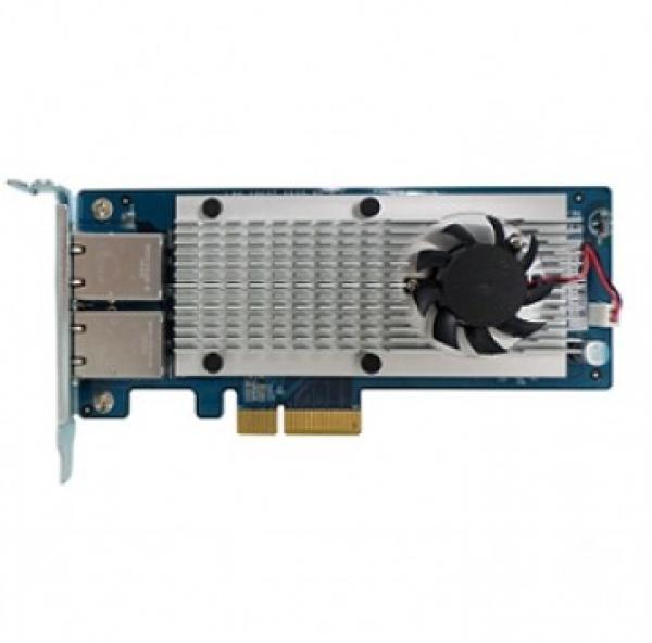 Qnap Dual-port 10g Base- Network Expansion Card NAS Accessories (LAN-10G2T-X550)