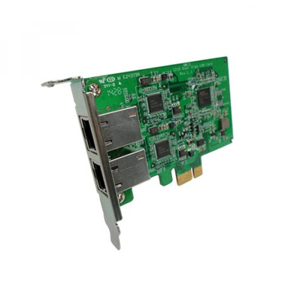 Qnap Gigabit Dual-Port Network Expansion Card NAS Accessories (LAN-1G2T-I210)