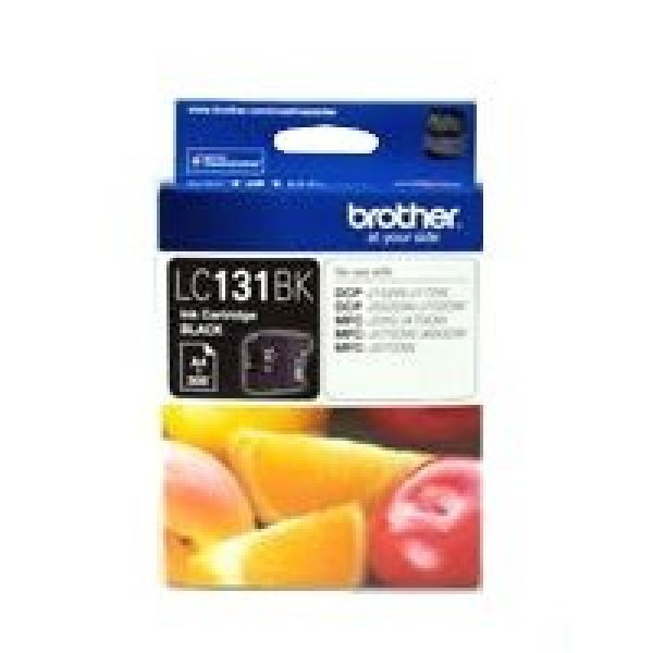 BROTHER Blk Ink 300 Pages Dcp-j152w LC-131BK
