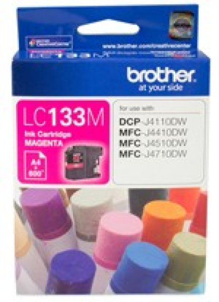 BROTHER Magenta Ink Cart Dcp-j4110dw LC-133M