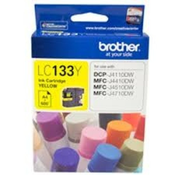 BROTHER Yellow Ink Cart Dcp-j4110dw LC-133Y