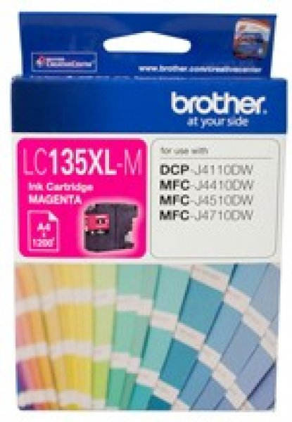 BROTHER Magenta Ink Cart Dcp-j4110dw LC-135XLM