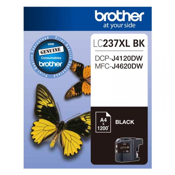 BROTHER Black Ink Cartridge LC-237XLBK