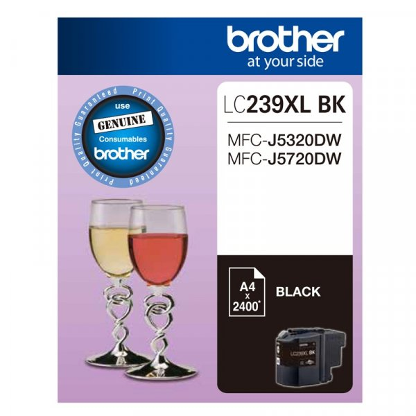 BROTHER Black Ink Cartridge To Suit LC-239XLBK