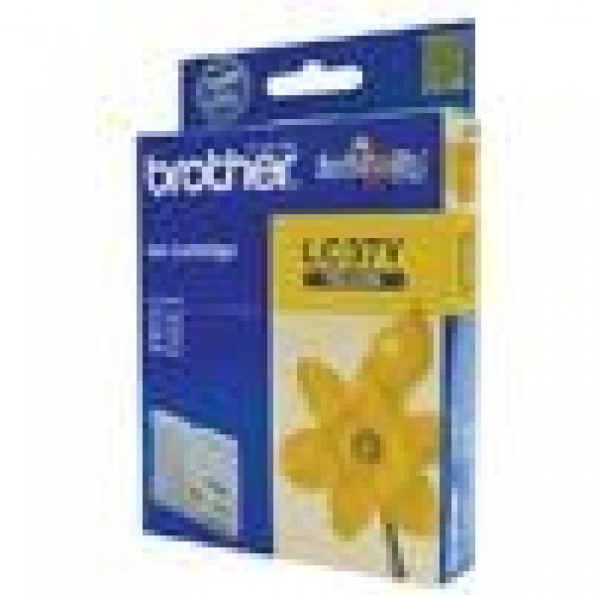 BROTHER Lc37 Yellow Ink 300 Page Yield For 135c LC-37Y