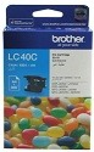 BROTHER Lc40 Cyan Ink 300 Page Yield For J525 LC-40C