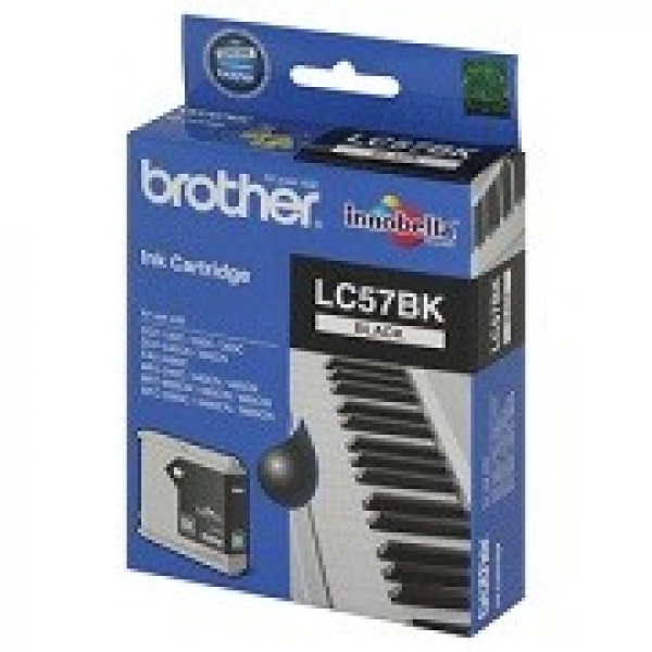 BROTHER Lc57 Black Ink 500 Page Yield For 2480 LC-57BK