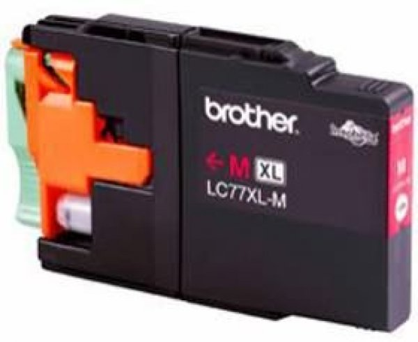 BROTHER Lc77 Xl Magenta Ink 1200 Page Yield For LC-77XLM