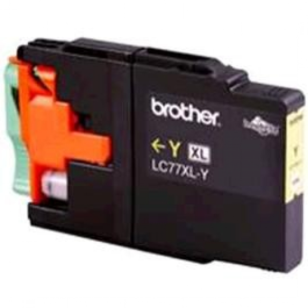 BROTHER Lc77 Xl Yellow Ink 1200 Page Yield For LC-77XLY