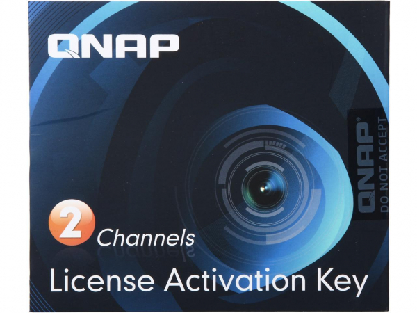 Qnap 2 License Activation Keys For NAS Accessories (LIC-CAM-NAS-2CH)