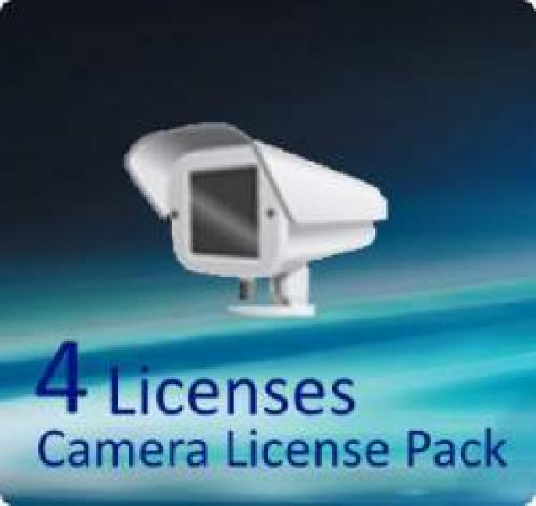 Qnap 4 License Activation Keys For NAS Accessories (LIC-CAM-NAS-4CH)