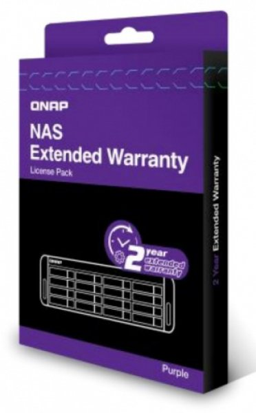 Qnap  2 Year Extended Warranty - Purple ( Lic-nas-extw-purple-2y-ei )