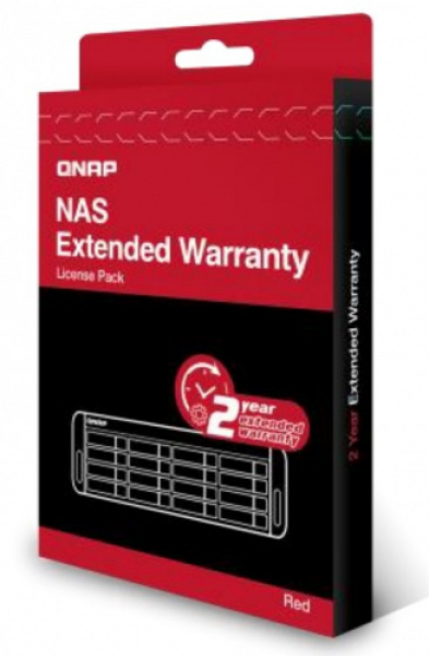 Qnap  2 Year Extended Warranty - Red ( Lic-nas-extw-red-2y-ei )
