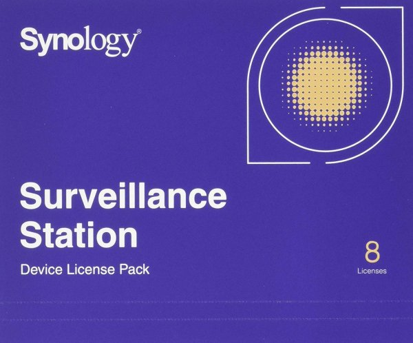 Synology Surveillance Device License Pack For NAS Accessories - (License Pack 8)