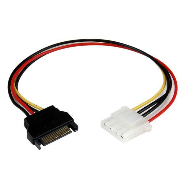 STARTECH 12in Sata To Molex Lp4 Power Cable LP4SATAFM12