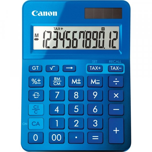 CANON Blue Desktop Tax LS123KMBL