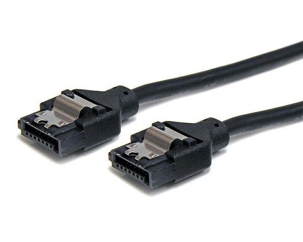 STARTECH 24in Latching Round Sata Cable - Fast LSATARND24