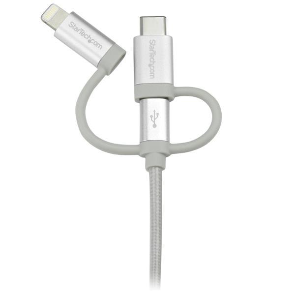 STARTECH 1m 3ft Usb Multi Charger Cable - LTCUB1MGR