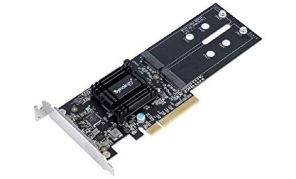 Synology Adapter Card Supporting M.2 SATA SSD NAS Accessories (M2D18)